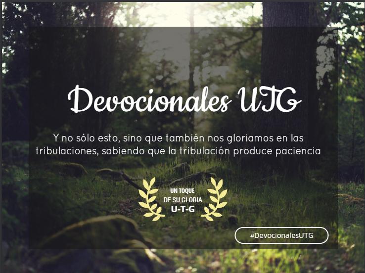devocionales UTG