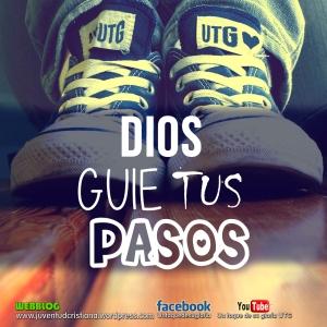 Dios guie tus pasos